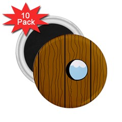 Over the fence  2.25  Magnets (10 pack)