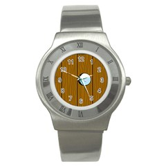 Over the fence  Stainless Steel Watch
