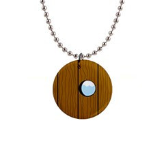Over the fence  Button Necklaces