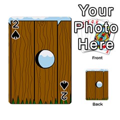 Over the fence  Playing Cards 54 Designs