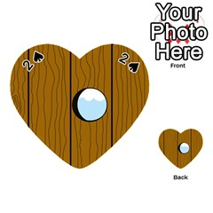 Over the fence  Playing Cards 54 (Heart)