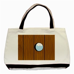 Over the fence  Basic Tote Bag (Two Sides)