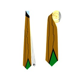Over the fence  Neckties (One Side)