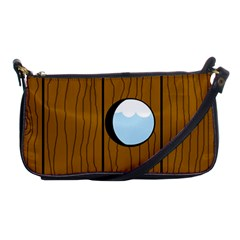 Over the fence  Shoulder Clutch Bags