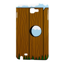 Over the fence  Samsung Galaxy Note 1 Hardshell Case