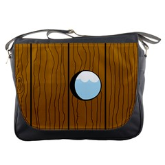 Over the fence  Messenger Bags
