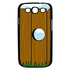 Over the fence  Samsung Galaxy S III Case (Black)