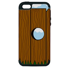 Over the fence  Apple iPhone 5 Hardshell Case (PC+Silicone)