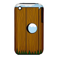 Over the fence  Apple iPhone 3G/3GS Hardshell Case (PC+Silicone)