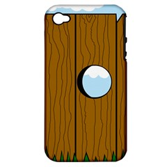 Over the fence  Apple iPhone 4/4S Hardshell Case (PC+Silicone)