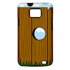 Over the fence  Samsung Galaxy S II i9100 Hardshell Case (PC+Silicone)