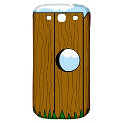 Over the fence  Samsung Galaxy S3 S III Classic Hardshell Back Case
