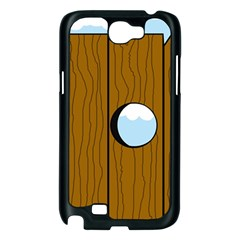 Over the fence  Samsung Galaxy Note 2 Case (Black)
