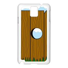 Over the fence  Samsung Galaxy Note 3 N9005 Case (White)