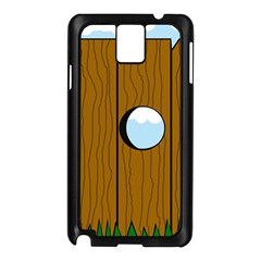 Over the fence  Samsung Galaxy Note 3 N9005 Case (Black)