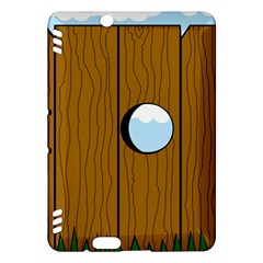 Over the fence  Kindle Fire HDX Hardshell Case