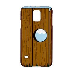 Over the fence  Samsung Galaxy S5 Hardshell Case