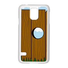 Over the fence  Samsung Galaxy S5 Case (White)