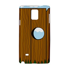Over the fence  Samsung Galaxy Note 4 Hardshell Case