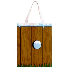 Over the fence  Classic Light Tote Bag