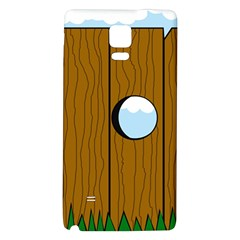 Over the fence  Galaxy Note 4 Back Case
