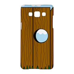 Over the fence  Samsung Galaxy A5 Hardshell Case