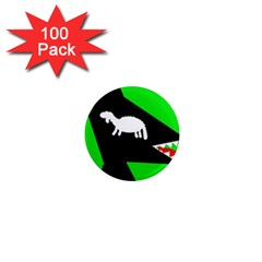 Wolf and sheep 1  Mini Magnets (100 pack)