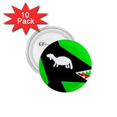 Wolf and sheep 1.75  Buttons (10 pack)