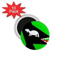 Wolf and sheep 1.75  Magnets (10 pack)