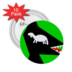 Wolf and sheep 2.25  Buttons (10 pack)