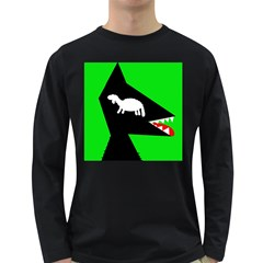 Wolf and sheep Long Sleeve Dark T-Shirts