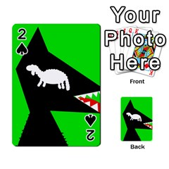 Wolf and sheep Playing Cards 54 Designs