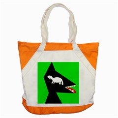 Wolf And Sheep Accent Tote Bag