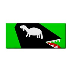 Wolf And Sheep Hand Towel