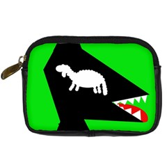 Wolf and sheep Digital Camera Cases