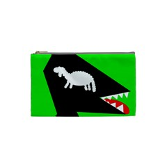 Wolf and sheep Cosmetic Bag (Small)