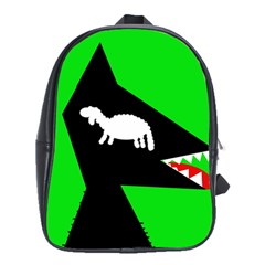 Wolf and sheep School Bags(Large)