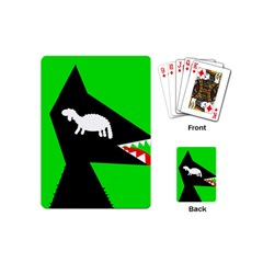 Wolf and sheep Playing Cards (Mini)