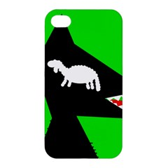 Wolf and sheep Apple iPhone 4/4S Hardshell Case