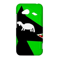 Wolf and sheep HTC Droid Incredible 4G LTE Hardshell Case