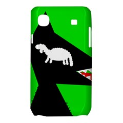 Wolf and sheep Samsung Galaxy SL i9003 Hardshell Case