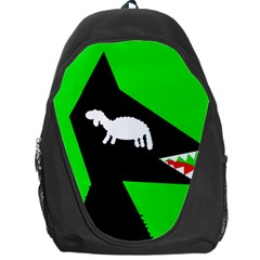 Wolf and sheep Backpack Bag