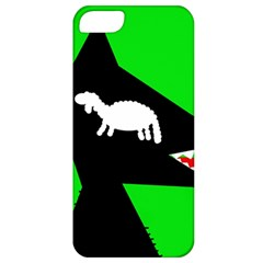Wolf and sheep Apple iPhone 5 Classic Hardshell Case