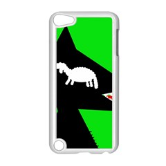 Wolf and sheep Apple iPod Touch 5 Case (White)