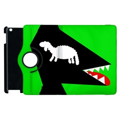 Wolf and sheep Apple iPad 2 Flip 360 Case