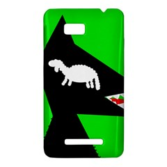 Wolf and sheep HTC One SU T528W Hardshell Case