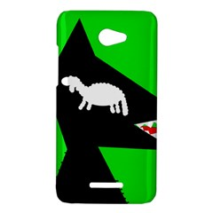 Wolf and sheep HTC Butterfly X920E Hardshell Case