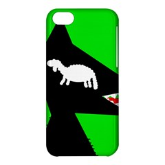 Wolf and sheep Apple iPhone 5C Hardshell Case
