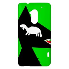 Wolf and sheep HTC One Max (T6) Hardshell Case