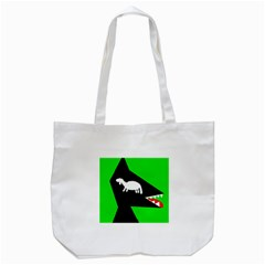 Wolf And Sheep Tote Bag (white)